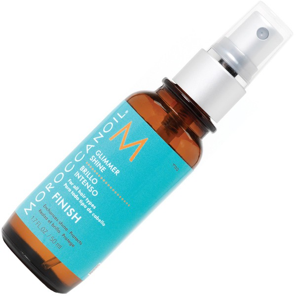 moroccanoil glimmer shine spray 100ml moroccanoil haarstyling moroccanoil online shop. Black Bedroom Furniture Sets. Home Design Ideas